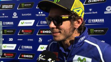 Rossi: 'We were about to test new tyre when Jorge crashed'