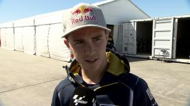 Phillip Island 2014 - Moto3 - FP2 - Interview - Danny Kent