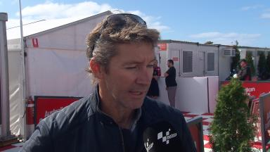 Catching up with Troy Bayliss at Phillip Island