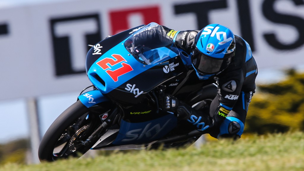 Francesco Bagnaia, SKY Racing Team  VR46, AUS FP2