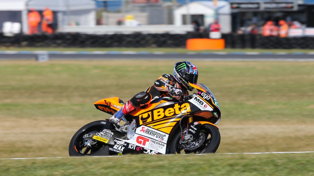 Sam Lowes, Speed Up, AUS FP2