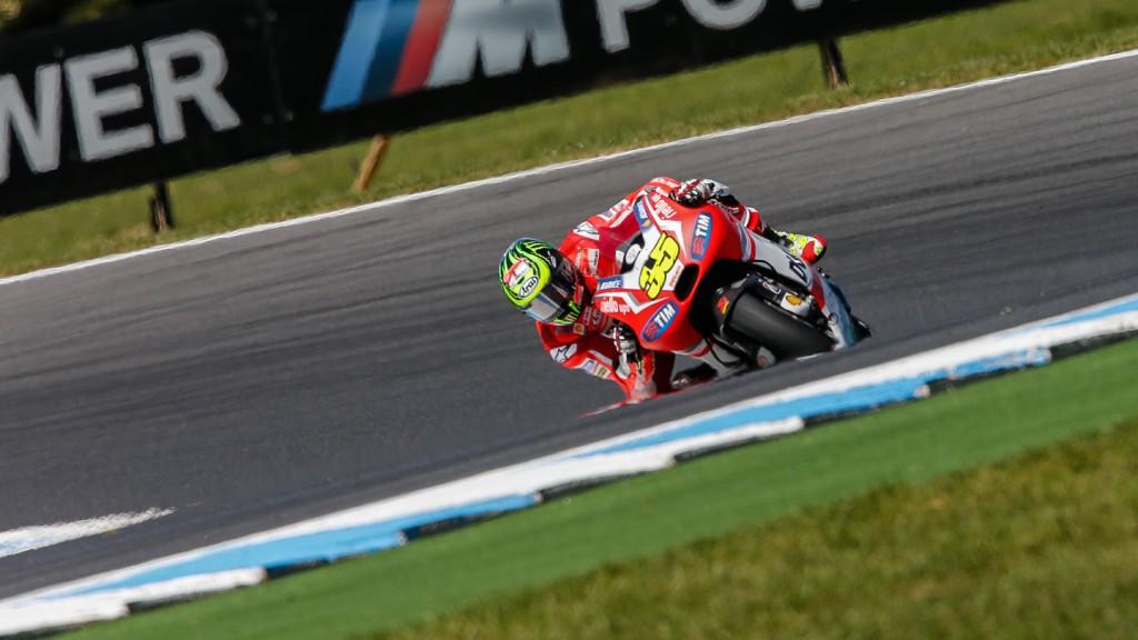 Cal Crutchlow, Ducati Team, AUS FP2