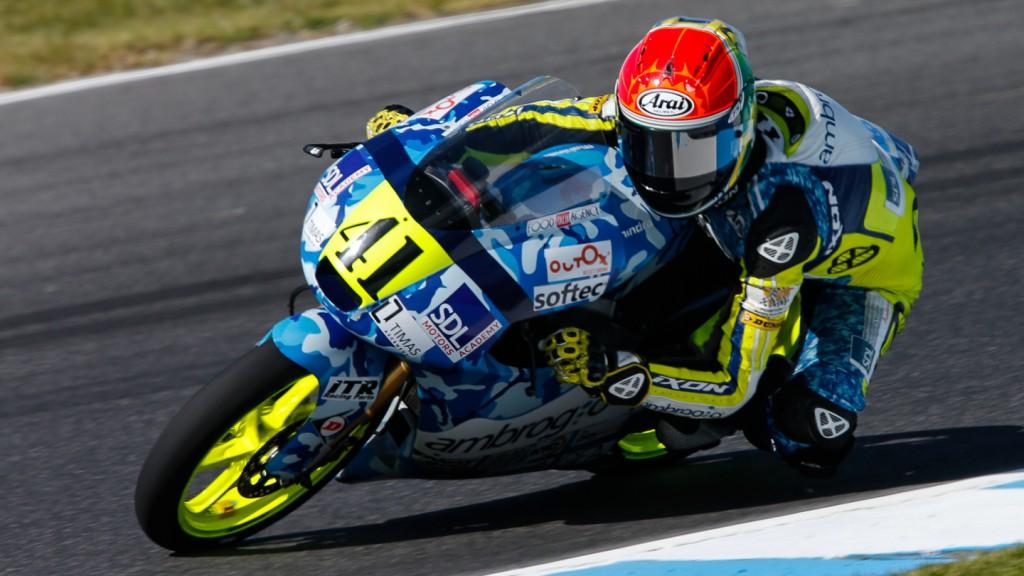 Brad Binder, Ambrogio Racing, AUS FP2