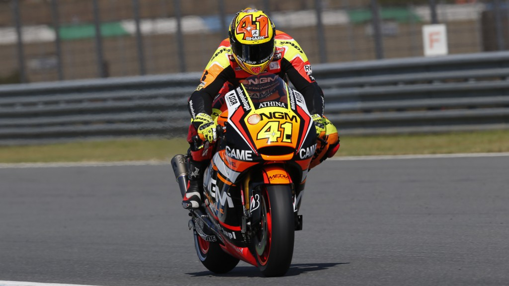 Aleix Espargaro, NGM Forward Racing, AUS FP1
