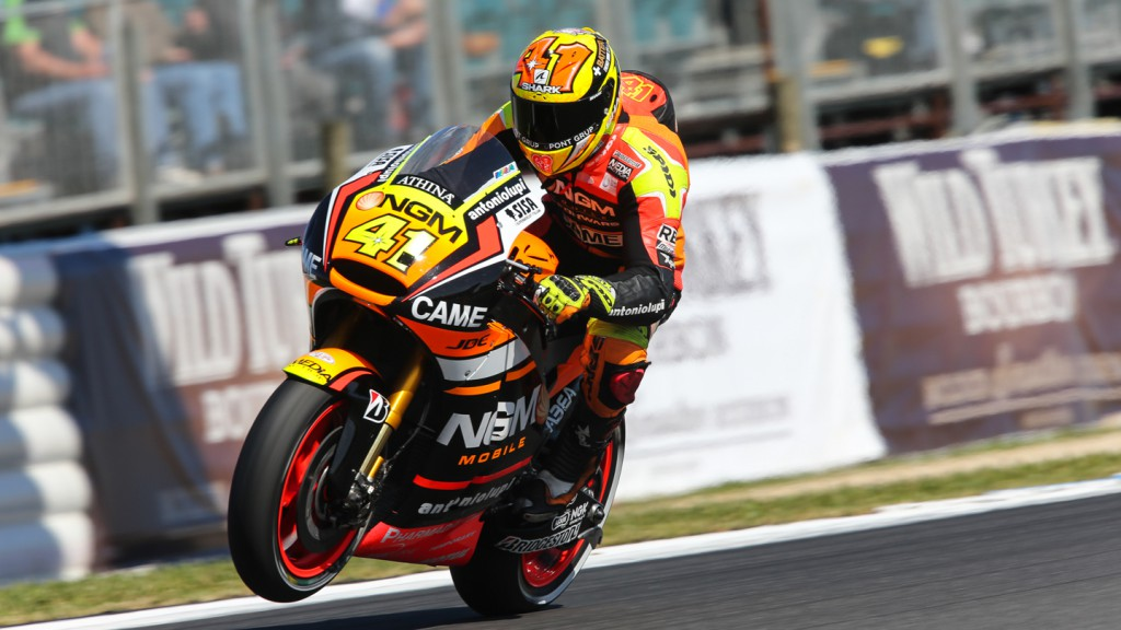 Aleix Espargaro, NGM Forward Racing, AUS FP2