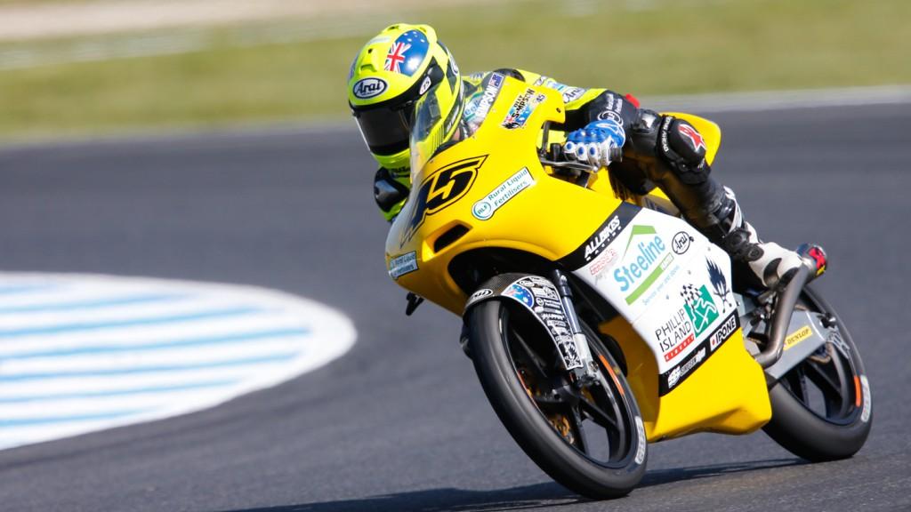 Olly Simpson, Olly Simpson Racing, AUS FP2