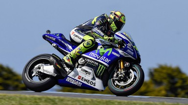 Valentino Rossi, Movistar Yamaha MotoGP, AUS FP2