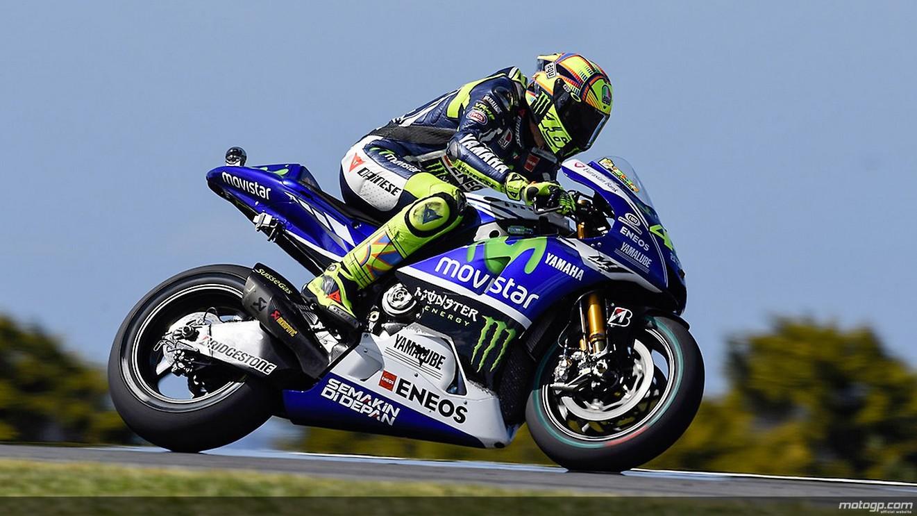 motogp.com · Valentino Rossi, Movistar Yamaha MotoGP, AUS FP2