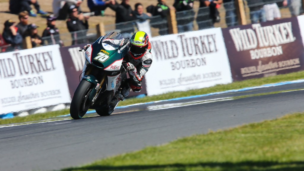 Michael Laverty, Paul Bird Motorsport, AUS FP2