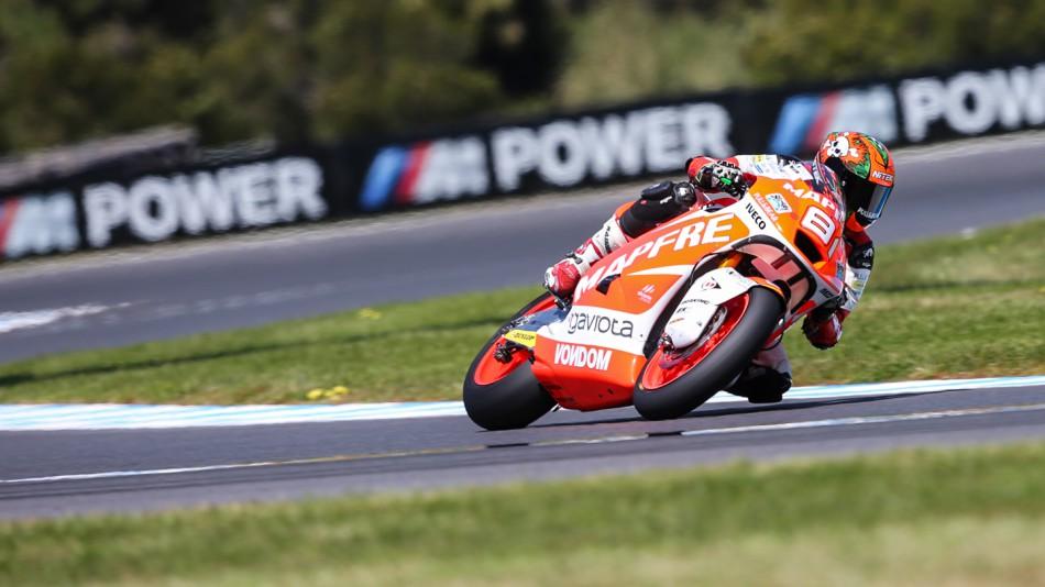 motogp.com · Jordi Torres, Mapfre Aspar Team Moto2, AUS FP2