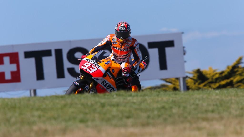 Marc Marquez, Repsol Honda Team, AUS FP2