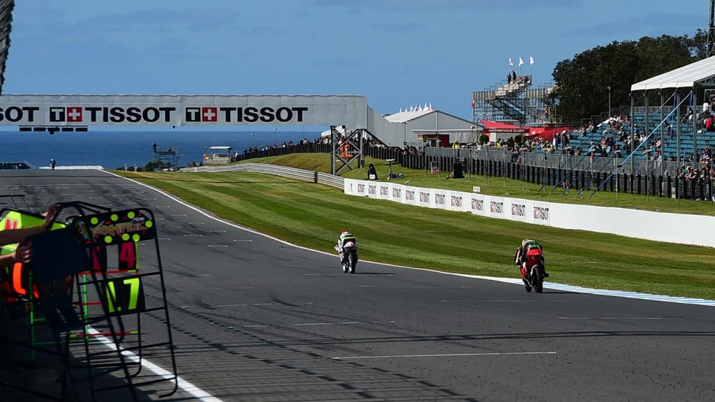 Moto3 Action, AUS FP2