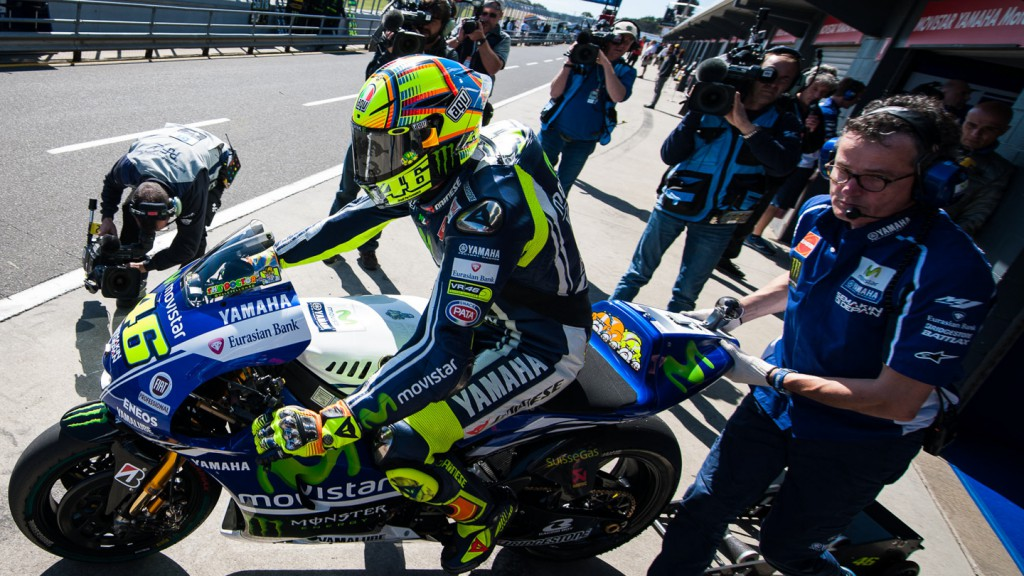 Valentino Rossi, Movistar Yamaha MotoGP, AUS FP2 © Copyright Scott Jones, PHOTO.GP