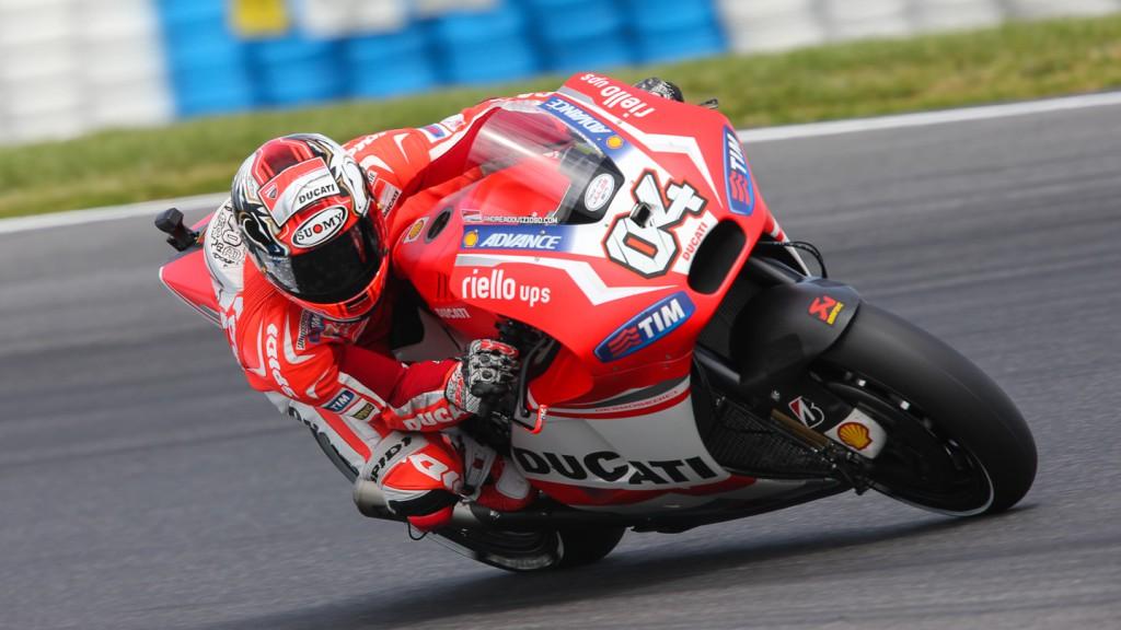 Andrea Dovizioso, Ducati Team, AUS Q2