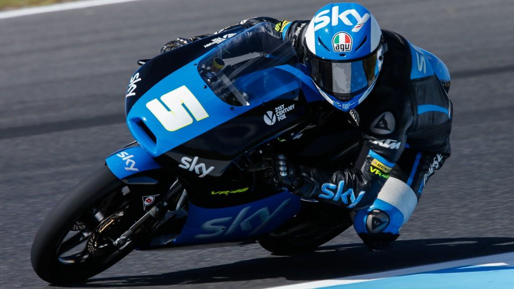 Romano Fenati, SKY Racing Team  VR46, AUS QP