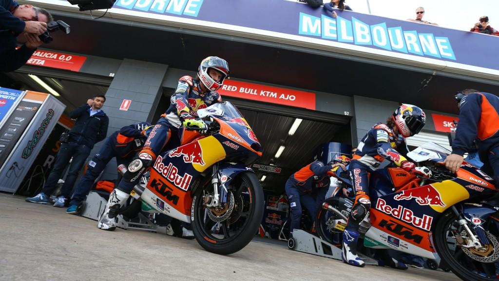 Karel Hanika, Jack Miller, Red Bull KTM Ajo, AUS QP