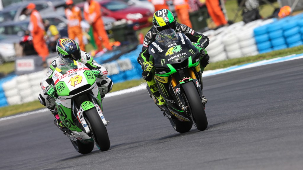 Pol Espargaro, Monster Yamaha Tech 3, AUS Q2