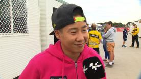 Phillip Island 2014 - Moto2 - QP - Interview - Tomoyoshi Koyama