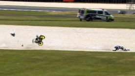 Phillip Island 2014 - Moto3 - QP - Action - Niklas Ajo - Crash