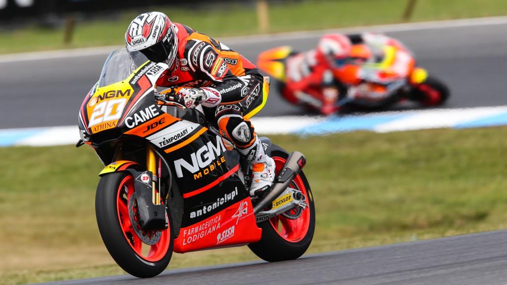 Florian Marino, NGM Forward Racing, AUS QP