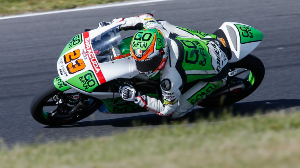 Niccolò Antonelli, Junior Team GO&FUN Moto3, AUS QP