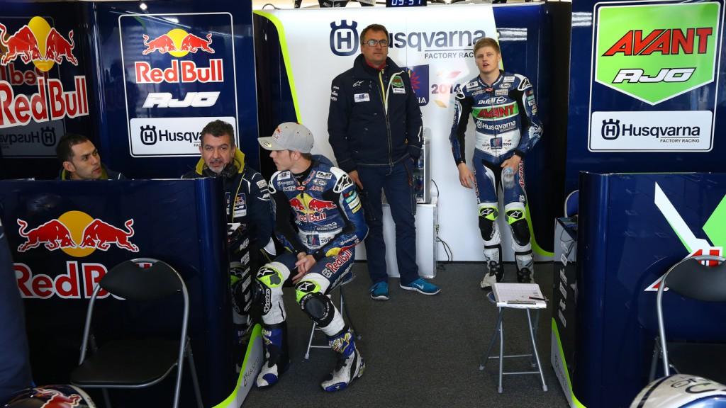 Niklas Ajo, Danny Kent, Avant Tecno Husqvarna Ajo, Red Bull Husqvarna Ajo, AUS QP