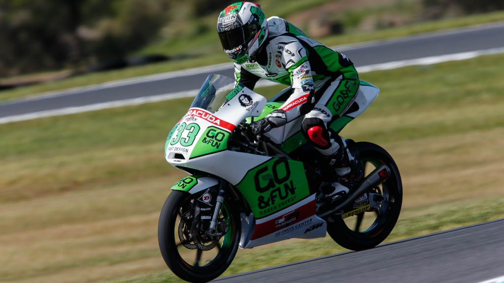 Enea Bastianini, Junior Team GO&FUN Moto3, AUS QP