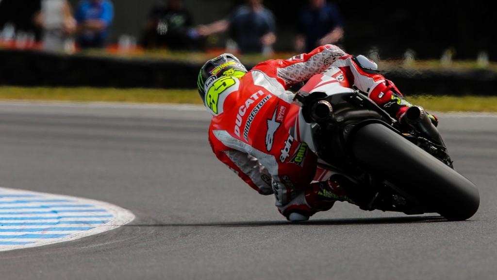 Cal Crutchlow, Ducati Team, AUS Q2
