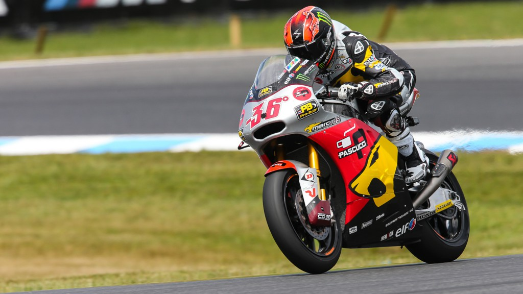Mika Kallio, Marc VDS Racing Team, AUS QP