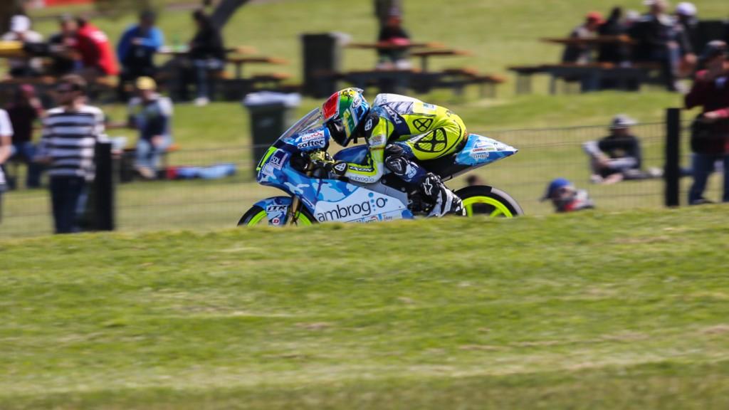 Brad Binder, Ambrogio Racing, AUS QP