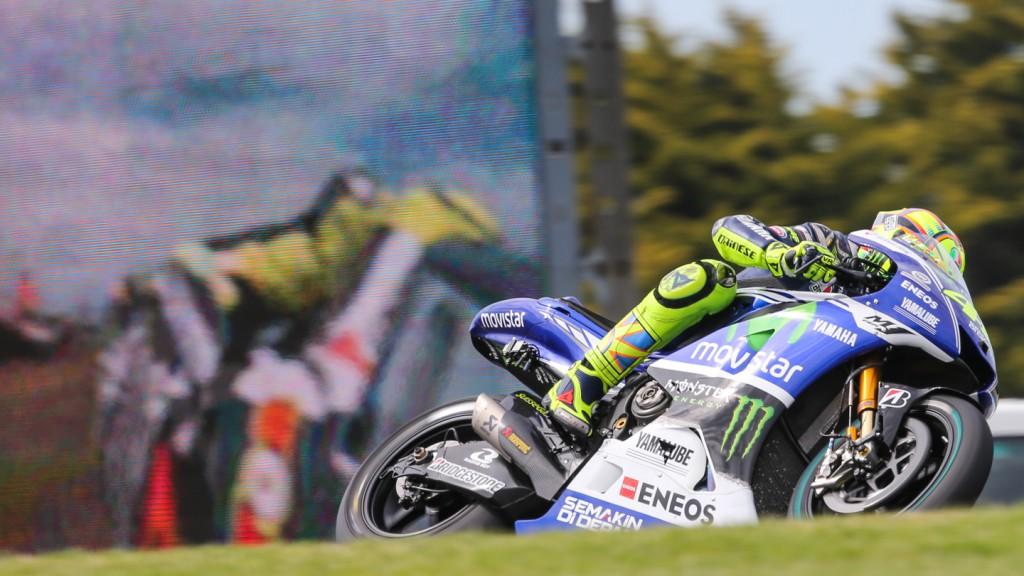 Valentino Rossi, Movistar Yamaha MotoGP, AUS Q2