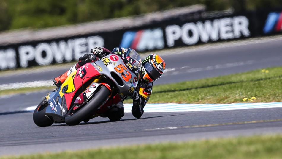 motogp.com · Esteve Rabat, Marc VDS Racing Team, AUS QP