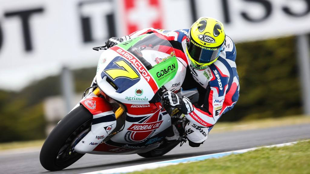 Lorenzo Baldassarri, Gresini Moto2, AUS QP