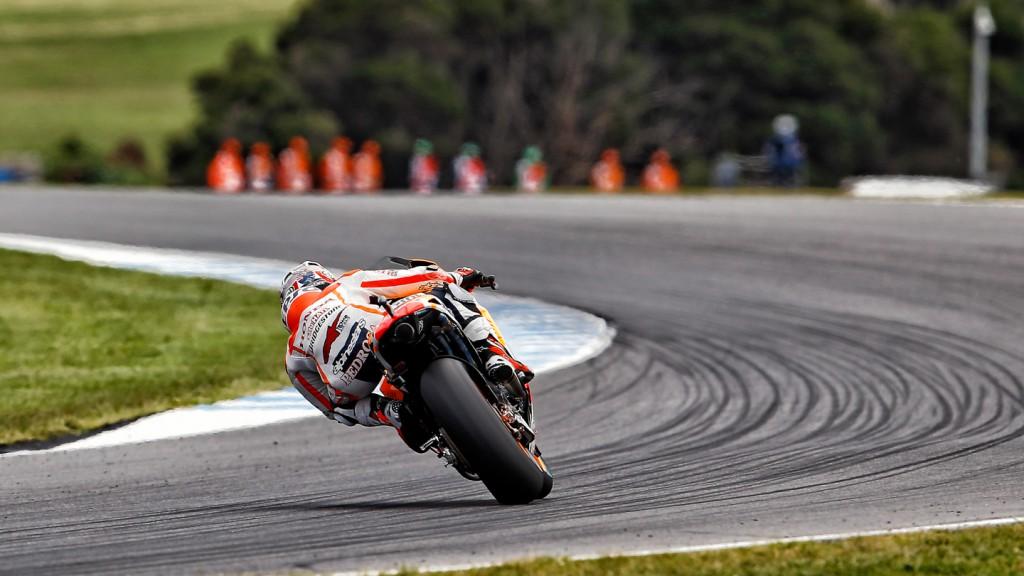 Dani Pedrosa, Repsol Honda Team, AUS Q2