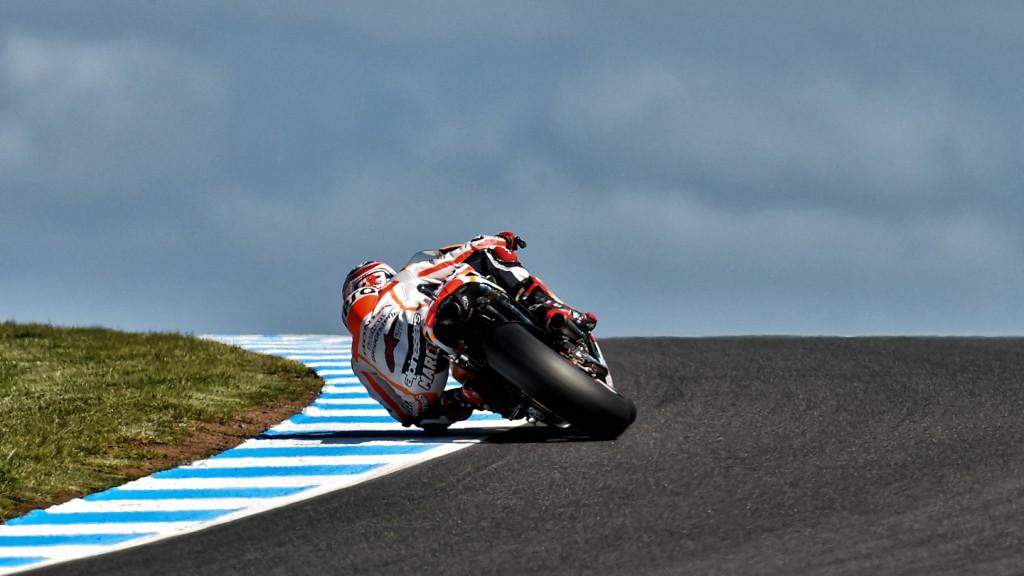 Marc Marquez, Repsol Honda Team, AUS FP4