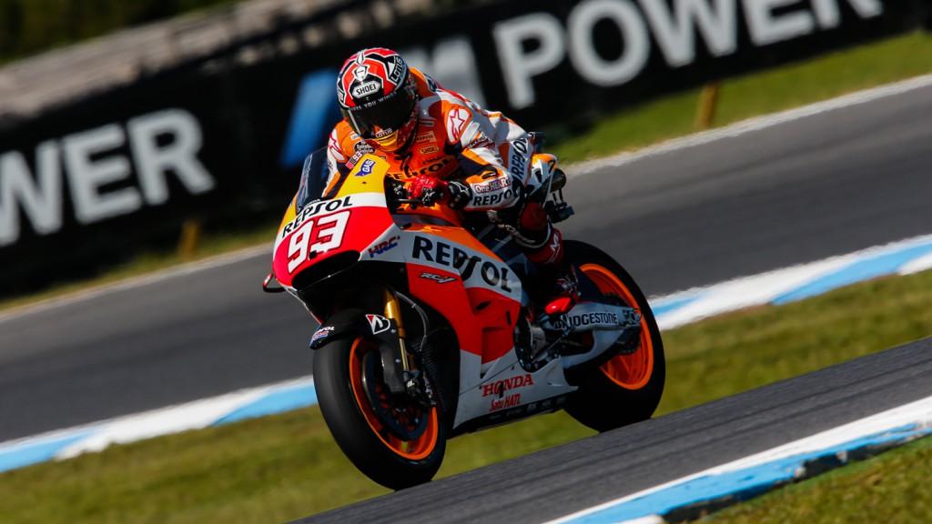 Marc Marquez, Repsol Honda Team, AUS Q2