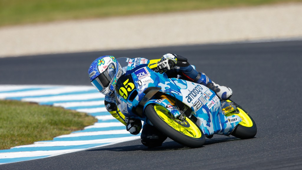 Jules Danilo, Ambrogio Racing, AUS QP