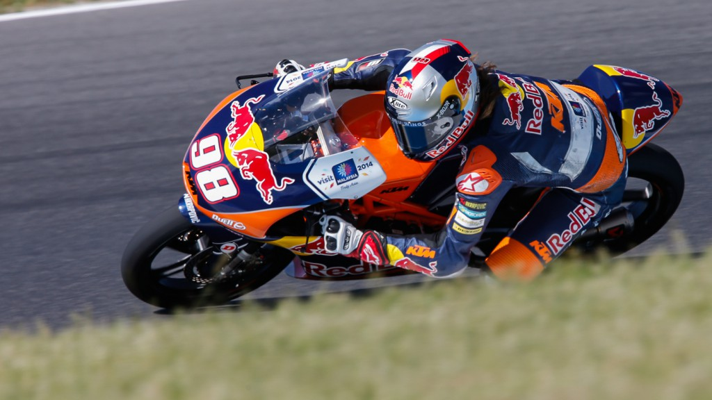 Karel Hanika, Red Bull KTM Ajo, AUS QP