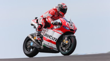 Andrea Dovizioso, Ducati Team, AUS RACE