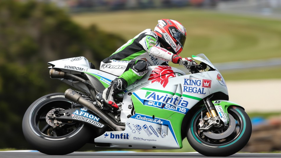 motogp.com · Hector Barbera, Avintia Racing, AUS RACE