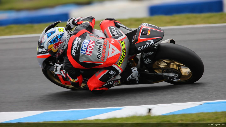 motogp.com · Sandro Cortese, Dynavolt Intact GP, AUS RACE