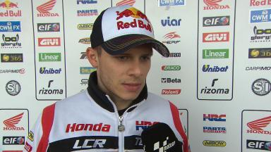 Phillip Island 2014 - MotoGP - RACE - Interview - Stefan Bradl