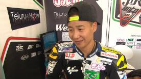 Phillip Island 2014 - Moto2 - RACE - Interview - Tomoyoshi Koyama