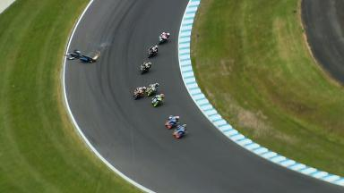 Phillip Island 2014 - Moto3 - RACE - Action - Romano Fenati - Crash