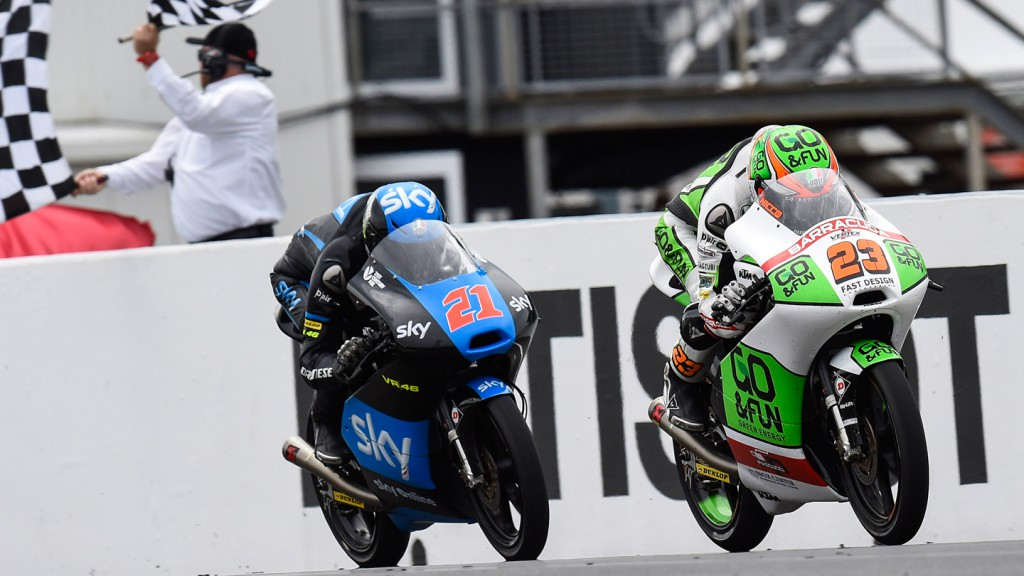 Niccolò Antonelli, Francesco Bagnaia, Junior Team GO&FUN Moto3, SKY Racing Team  VR46, AUS RACE