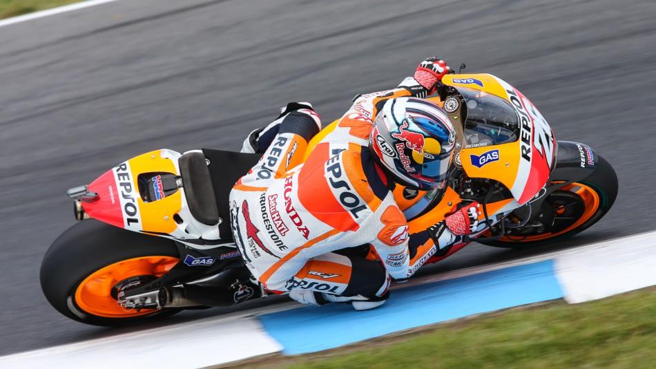 motogp.com · Dani Pedrosa, Repsol Honda Team, AUS RACE