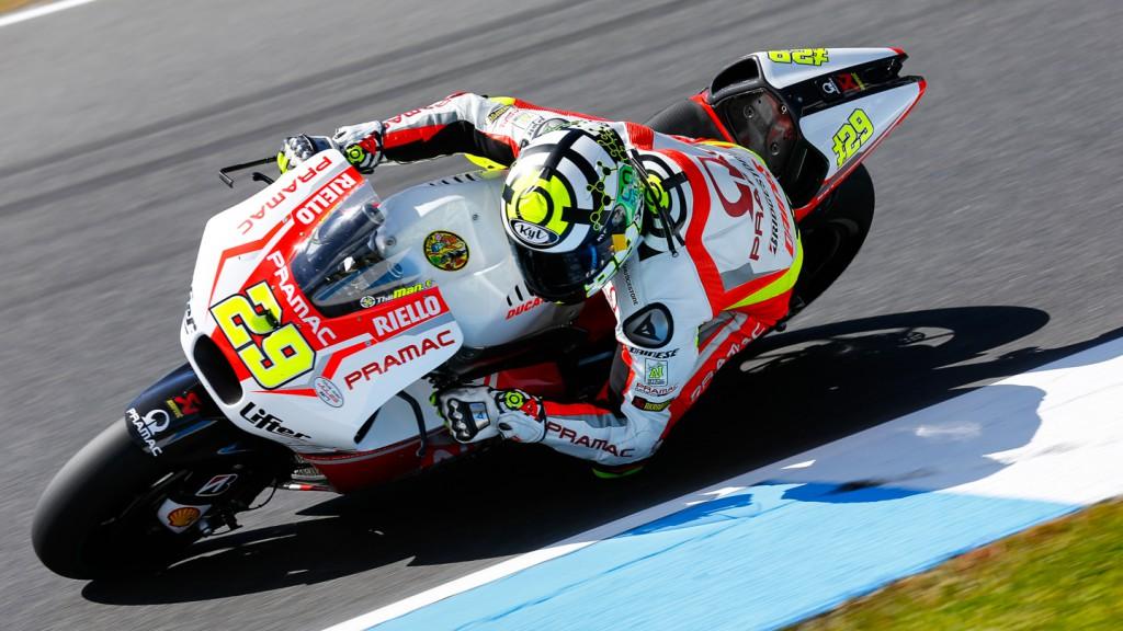 Andrea Iannone, Pramac Racing, AUS RACE