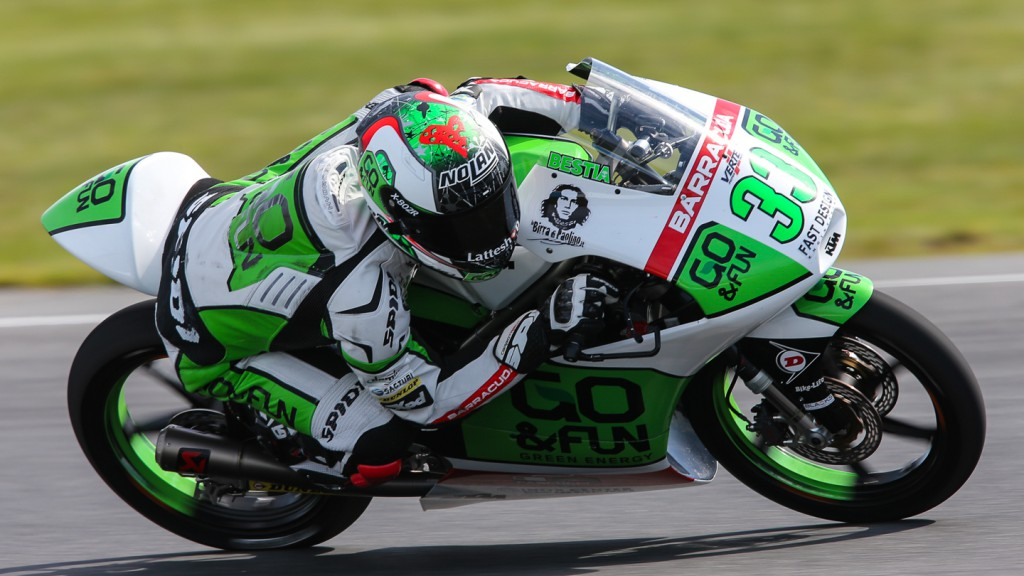Enea Bastianini, Junior Team GO&FUN Moto3, AUS RACE