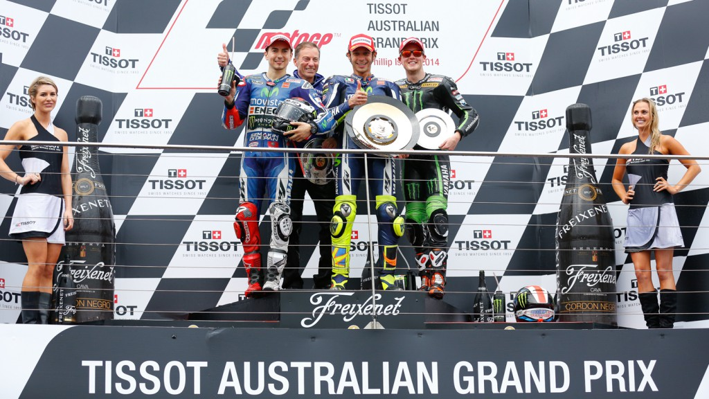 Jorge Lorenzo, Valentino Rossi, Bradley Smith, Monster Yamaha Tech 3, Movistar Yamaha MotoGP, AUS RACE