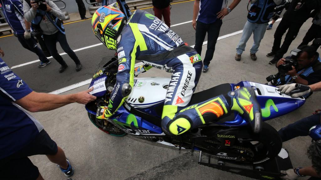 Valentino Rossi, Movistar Yamaha MotoGP, AUS WUP